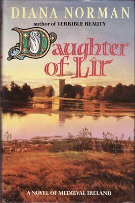 Daughter of Lir by Norman Diana Hardback Book The Cheap Fast Free Post