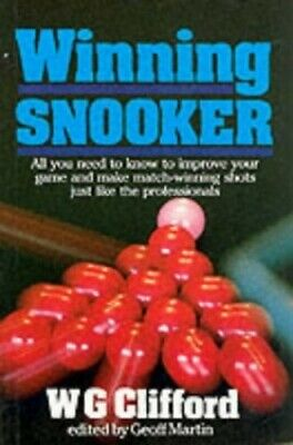 Winning Snooker by Clifford, W.G. Paperback Book The Cheap Fast Free Post