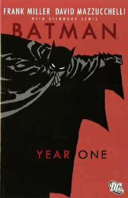 Batman: Year One - Deluxe Edition by David Mazzuchelli Paperback Book The Cheap
