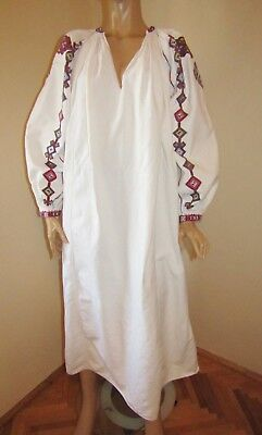 Antique hand made Ukrainian  dress , traditional dress, medieval dress/ size M L