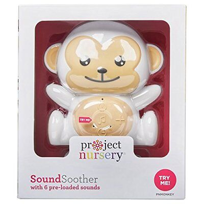 Project Nursery sound soother, Monkey, 6 sounds.