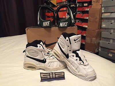 watch 326e8 3e1e7 Ds Og Original 1996 Nike Air Modify Force High Vintage Basketball Sneakers  11