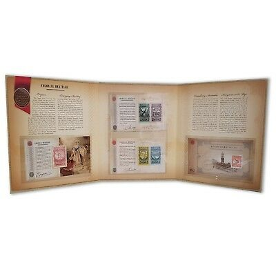 Australia Colonial Heritage Intaglio Imperf Mini Sheets Collection Limited Pack