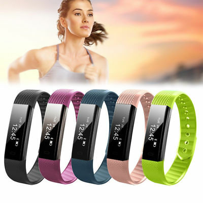 Fitness Activity Tracker Gym Sports Wrist Watch Band For Android iPhone iOS