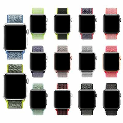 Reloj Deportivo De Nylon de Bucle Banda Correa Para Apple Watch Series 3/2/1 HOT