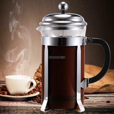 French Press Coffee Maker 8 Tea Cup Stainless Steel Filter 34 Oz 1000 ml 02