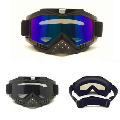 Motocross Motorcycle Goggles Nose Guard Scooter Riding Skiing Glasses Anti Dust