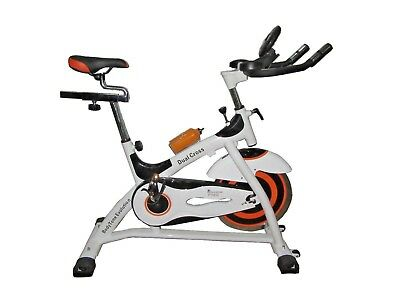 Bicicleta Spinning Bodytone Evolution Dual Cross Vol inercia 22kg. Astan Hogar