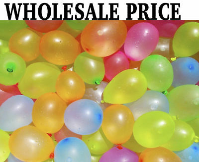 2000 Water Balloons Bombs Multi Colour Kids Summer Party Fun Toys Bag Fillers al