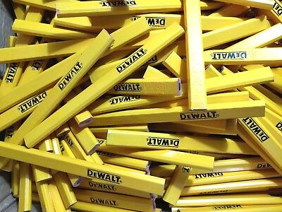 10x Marked/Damaged/Seconds/Reject DeWALT Carpenters Pencils