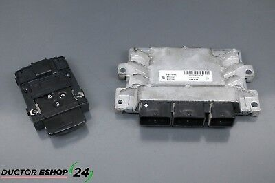 2014 RENAULT ZOE / ELECTRIC / engine ecu & key 237D40127R 285909828R