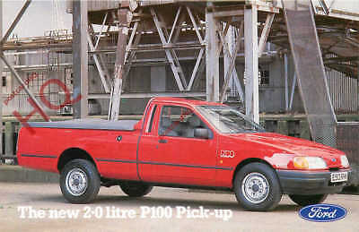 Picture Postcard~ FORD MOTORS, THE NEW 2.0 LITRE P100 PICK-UP
