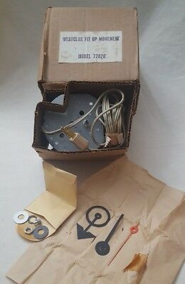 Vintage Westclox fix up movement model 72020 replacement NOS clock parts