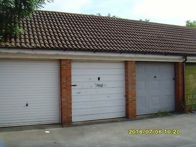 Single Domestic Garage To Let In Eaton Socon St Neots Cambridgeshire