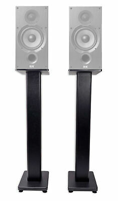 "Pair 36"" Bookshelf Speaker Stands For ELAC Debut 2.0 B6.2 Bookshelf Speakers"
