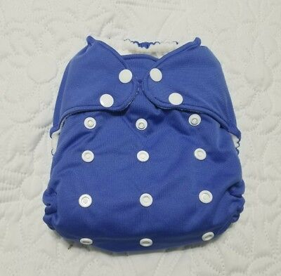 Hero Pocket Diaper by Coqui Baby 7-40lbs Blue  + 2 inserts