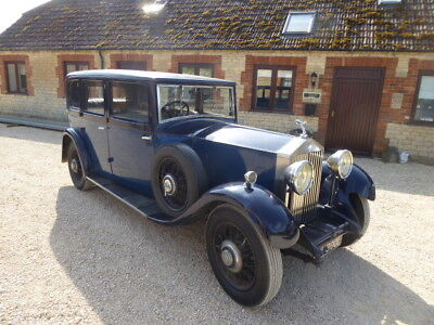Rolls Royce 20/25 Limousine 1932 3 Owners Some History Runs And Drives Well