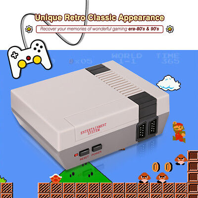 Mini Classic Edition Games Console Video Game Player 620 Games + 2 Controllers