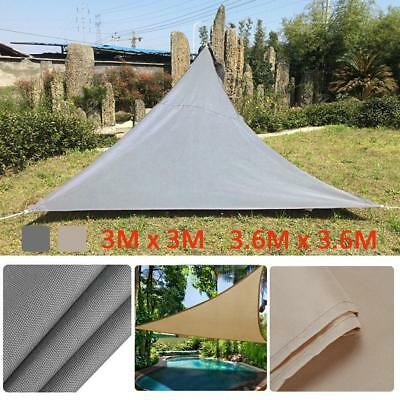 Triangle Sun Protection Canopy Garden Shade Awning Outdoor Camping