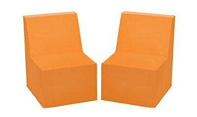 ECR4KIDS elr-12707-bl Toddler Chair, Orange, 1