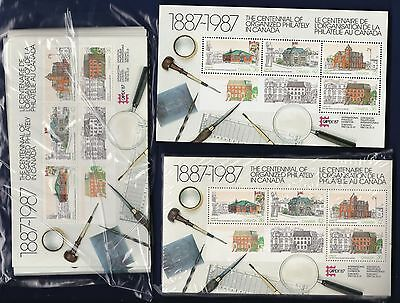 10 Copies Of No 1125A, Centenniel Of Philately, Canada Post Offices
