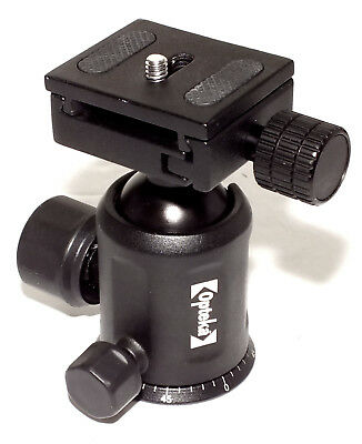 Opteka TH40 Magnesium Alloy Ball Head w/ Quick Release in NEAR MINT condition !!