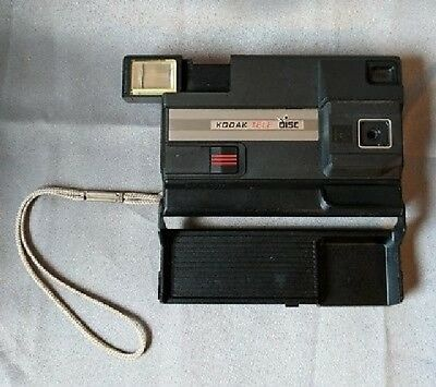 Kodak tele disc camera with strap - NOW FREE Priority SHIPPING