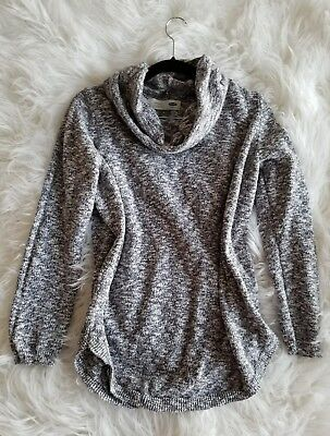 Gorgeous Old Navy Maternity cowl sweater size Medium women's cotton shirt top