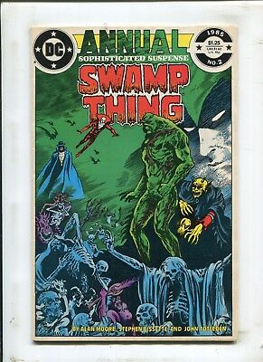 Swamp Thing Annual #2 - Justice League Dark! - (8.0) 1984