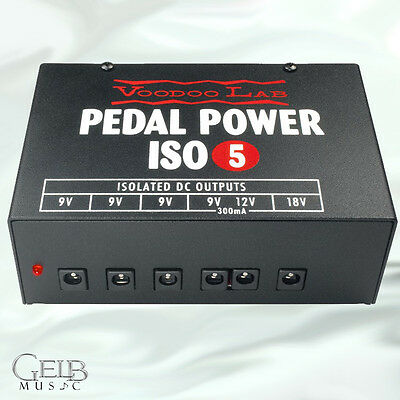 Voodoo Lab ISO-5 Isolated Power Supply - PPISO-5