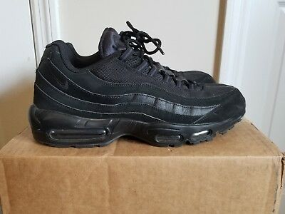 buy popular 4a440 69a07 NIKE AIR MAX 95 97 Plus Tn Black Anthracite size 12.5 Suede Nubuck Leather  Mesh