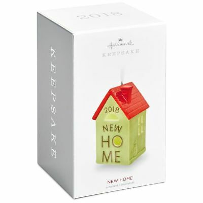Hallmark Keepsake 2018 New Home Ceramic Ornament