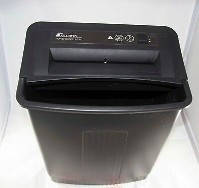 Fellowes Powershred PS40 - strip-cut paper shredder - good condition - used