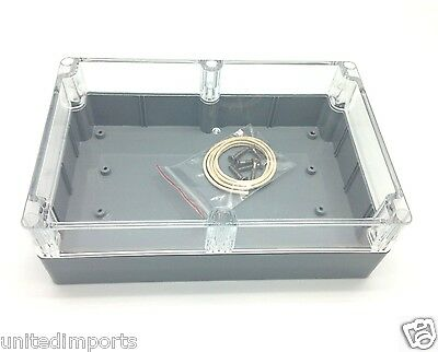ABS Enclosure Box IP65 & NEMA4 - 222X146X75mm, CTPE353C