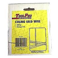 TOOLPRO 05122 18ga 300ft Ceiling Wire
