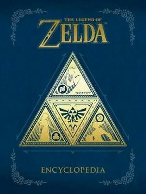 NEW The Legend Of Zelda Encyclopedia By Nintendo Hardcover Free Shipping