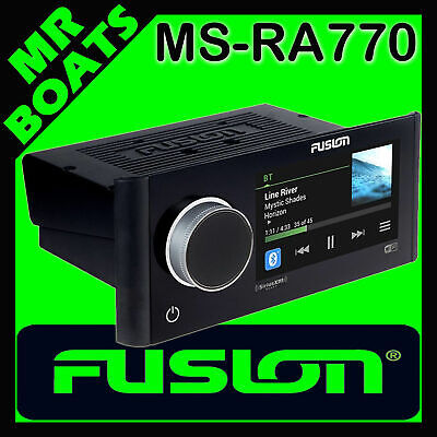 FUSION APOLLO STEREO Marine Boat Entertainment System Wi-Fi AMFM Radio MS-RA770