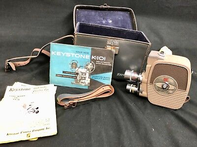 Vintage Keystone K-101 8MM Automatic Movie Projector with Case
