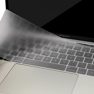 """Protective Keyboard Skin Cover for MacBook Pro 13"""" 15"""" Retina Display Touch Bar"""