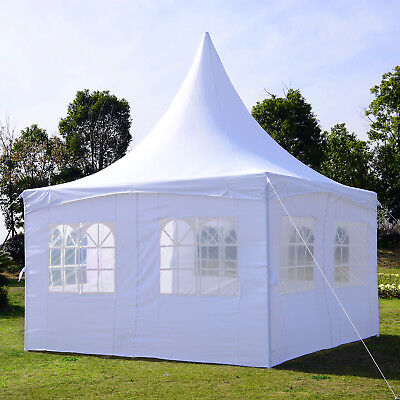Summer Clearance 13x13ft Pagoda Party Tent Wedding Canopy White