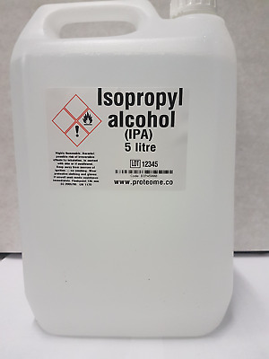 IPA Isopropyl alcohol 5 litres 99.9% free delivery  CHEAPEST PRICE IN UK