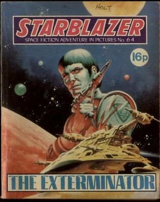 The Exterminator,starblazer Space Fiction Adventure In Pictures,no.64,1982
