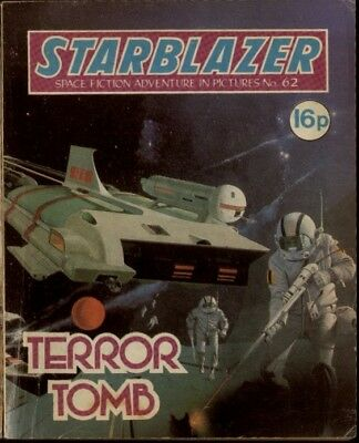 Lords Of The Wildernes,starblazer Space Fiction Adventure In Pictures,no.63,1981