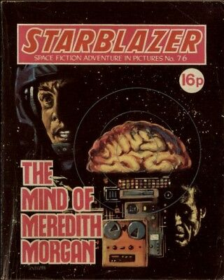 The Mind Of Meredith Morgan,starblazer Space Fiction In Pictures,no.76,1982