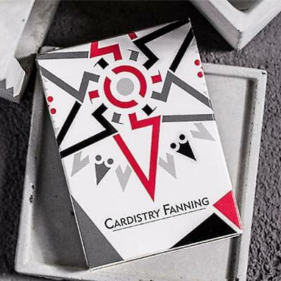 Cardistry Fanning Playing Cards by BOCOPO White Edition