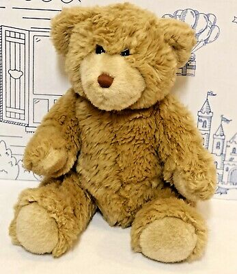 Build a Bear Teddy Classic Jointed Beige Tan Stuffed Animal Toy BAB Plush Brown