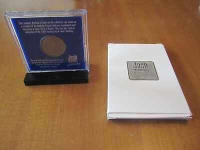 Lenin 100th Anniversary Coin Encased by Josh McDowell Ministry With Box & Stand