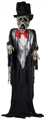 GIANT! 12 FOOT Ghost Groom HANGING OUTDOOR HALLOWEEN DECORATION PROP YARD HAUNT