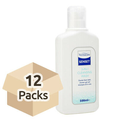 Senset 3 in 1 Cleansing Wash - 500ml - Case of 12
