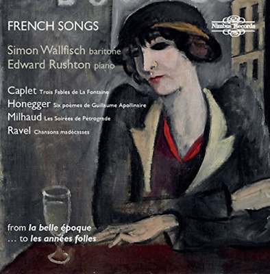WALLFISCH, SIMON-French Songs from La Belle Epoque to Les Annees Follies  CD NEU